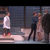 Mariage et Châtiment au Théâtre Hébertot avec Daniel Russo et Laurent Gamelon
