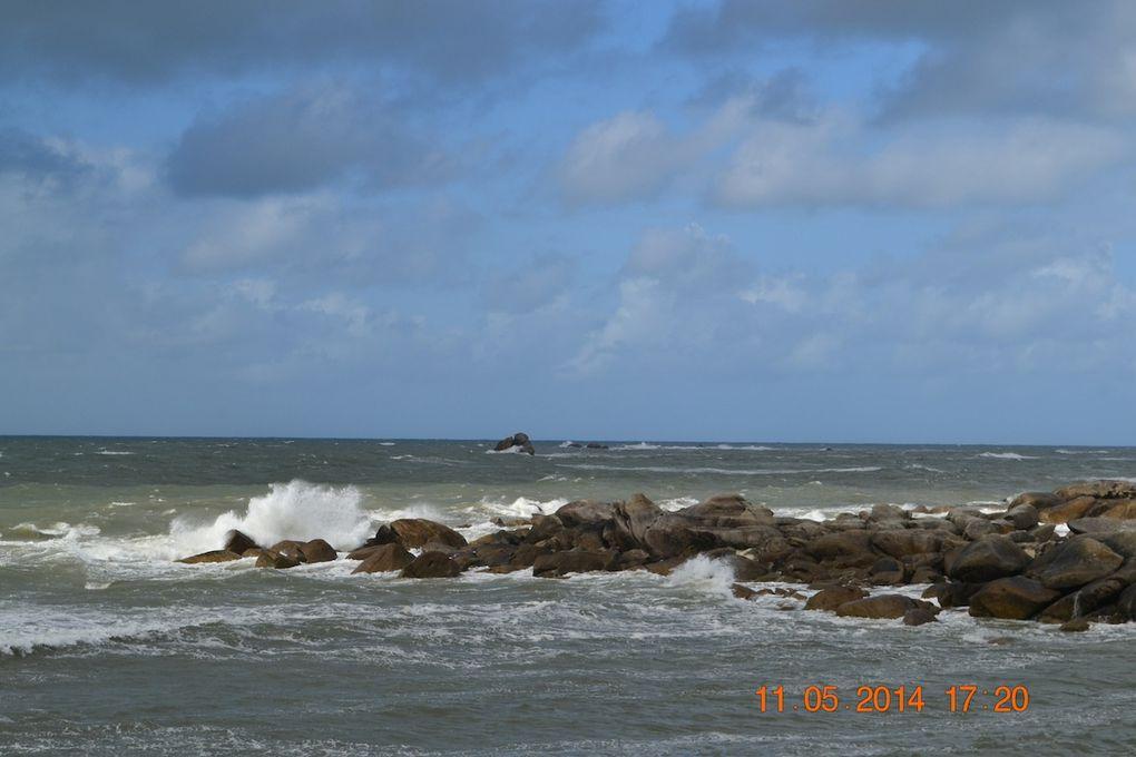 Balade en bord de mer agitée