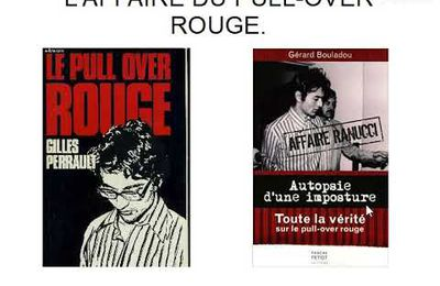 L'AFFAIRE DU PULL-OVER ROUGE.