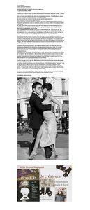 La rue danse: Exposition de photographies de Flavia Raddavero autour du tango