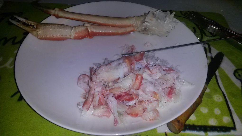 À prendre avec des pincettes ! La dégustation des pattes de cette araignée de mer est privilégiée en avril et en mai.
