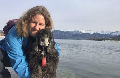 10 avril 2021 : Lucerne en Suisse (bord du lac)
