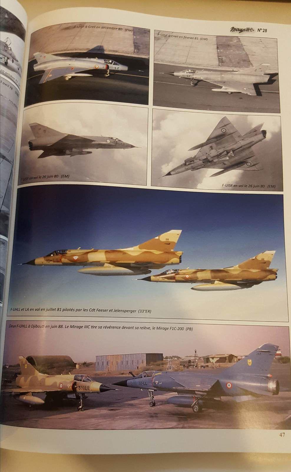 la saga du Mirage III C