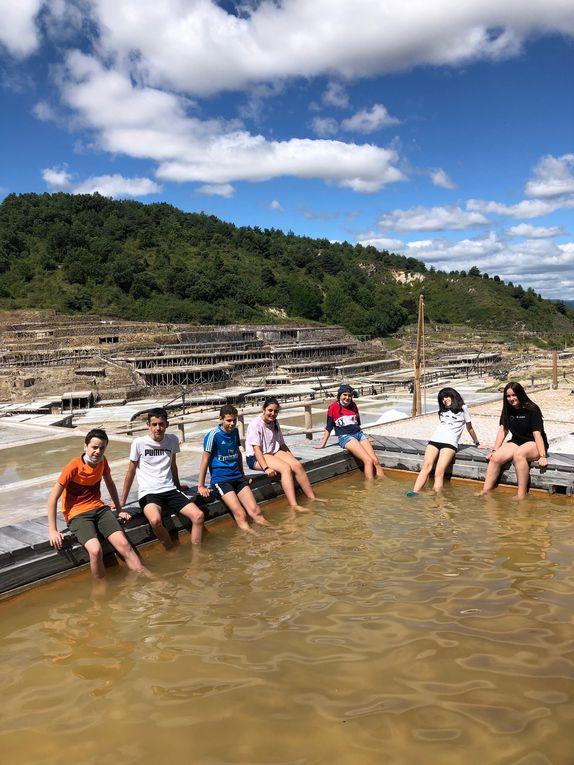 Excursión con los más jóvenes al VALLE SALADO DE AÑANA (Álava)