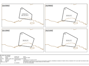 Bromo - plume of 20.03.2019 / 6:17 am / PVMBG and Volcanic ash advisory / Doc. VAAC Darwin 20.03.2019 - one click to enlarge