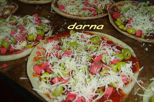 les baghrirs pizzas!