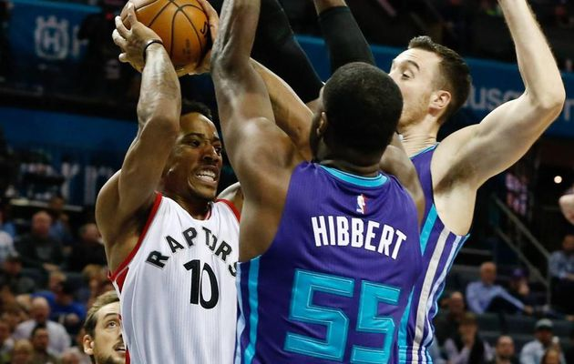 Toronto s'impose de justesse face à Charlotte, Boston corrige les Knicks