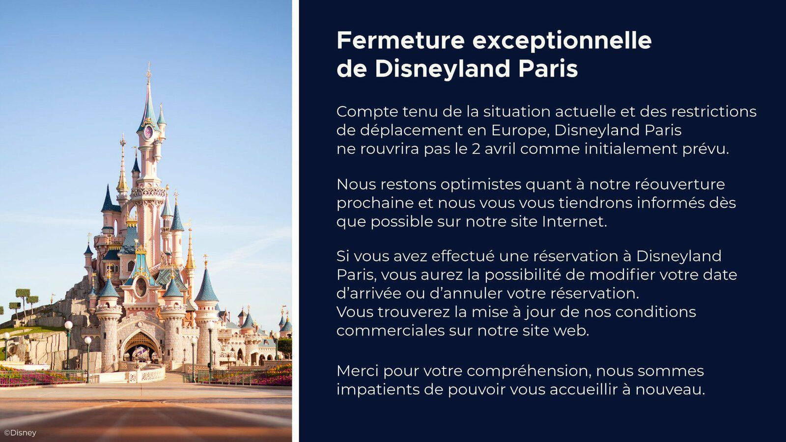 © Disneyland Paris