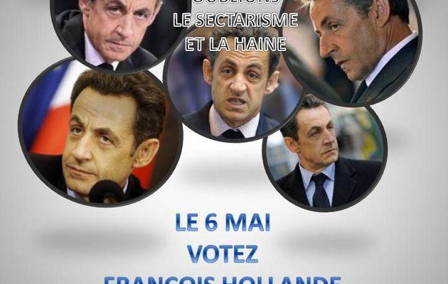 OUBLIONS LE SECTARISME ET LA HAINE / PRESIDENTIELLE 2012
