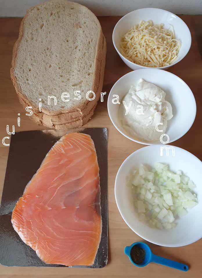 Bruschetta saumon et au fromage blanc express