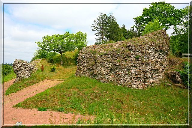Diaporama château de Gavray