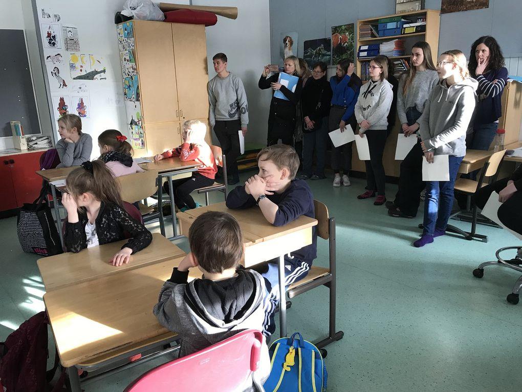 Mobility SMFI19 Visiting kindergarten pupils