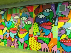 Street art près de la gare de Lyon