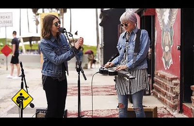 Come On in My Kitchen - Larkin Poe - Playing For Change - Live Outside