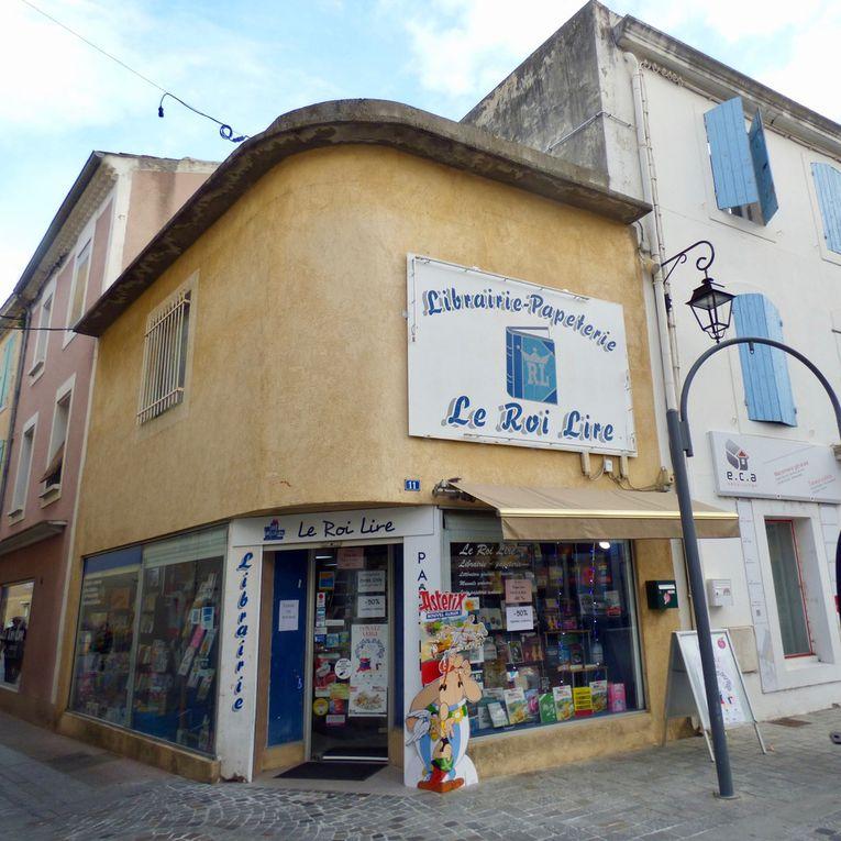"""Olivier Tarakdjioglou gère depuis 2007 la librairie indépendante """"Le Roi Lire"""" située à Pierrelatte. Il participe pour la première année à l'opération """"Donnez à lire"""" et a déjà prévu d'offrir quelques livres lui aussi."""