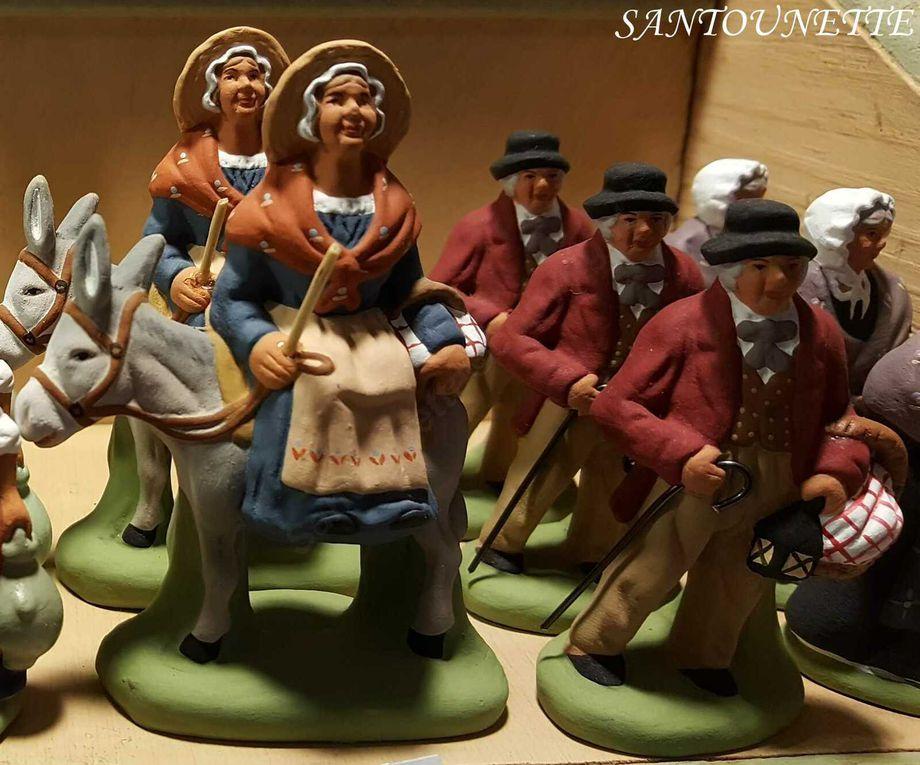 Santons Jouve (la crèche de Jean Pierre de Montpellier), Fabienne Pardi, Mayans, Cécile Clémente