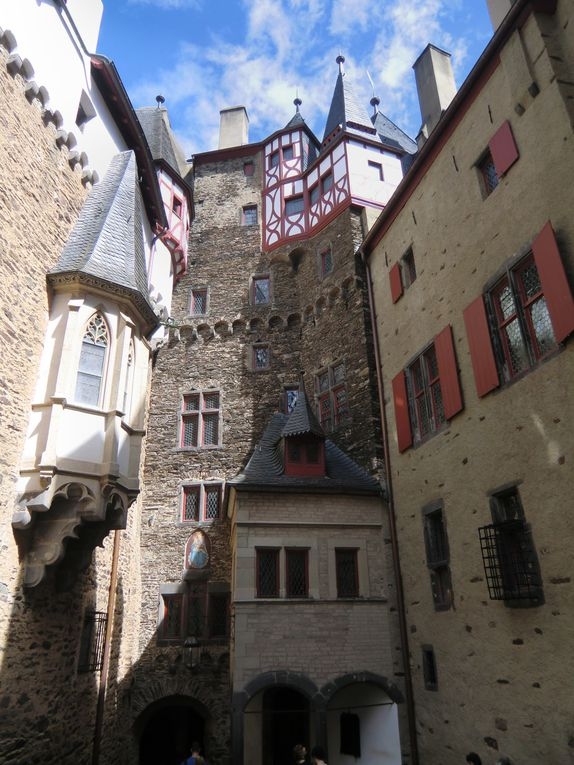 Coblence principaux monuments Vallée du Rhin
