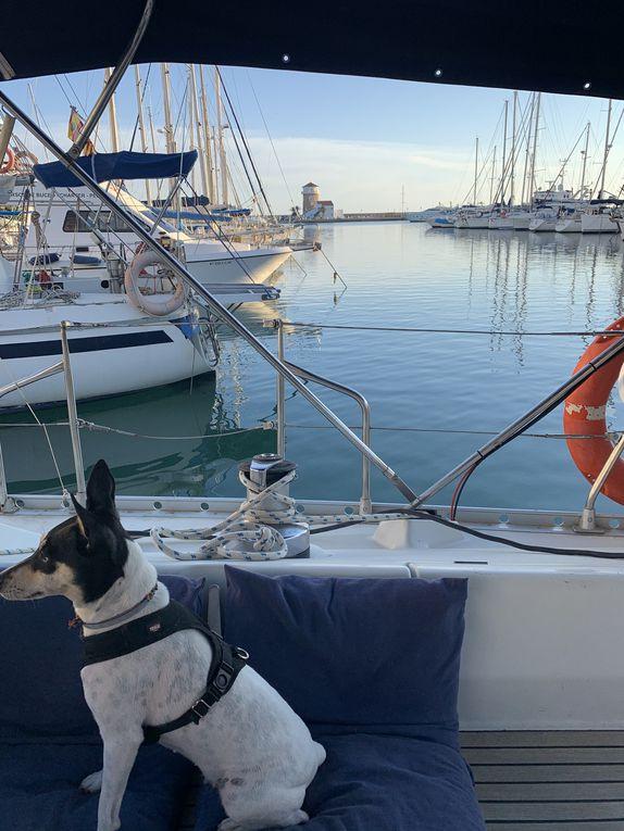 3 semaines en voilier, Espagne / Portugal