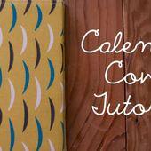 Miss Make: Tutorial: Calendar Cover