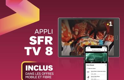 SFR Caraïbe : L'application « SFR TV8 » est désormais disponible !
