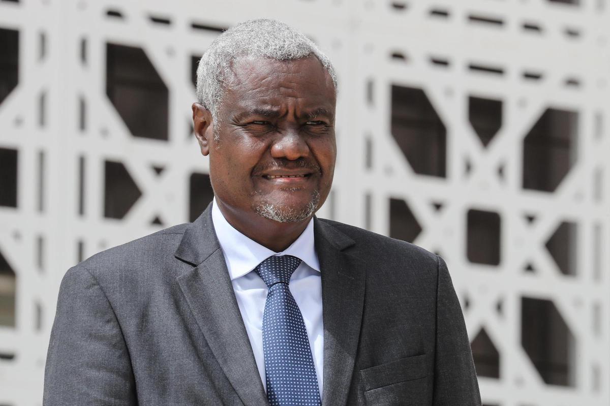 Où est Moussa Faki Mahamat, Président de la commission de l'Union africaine?