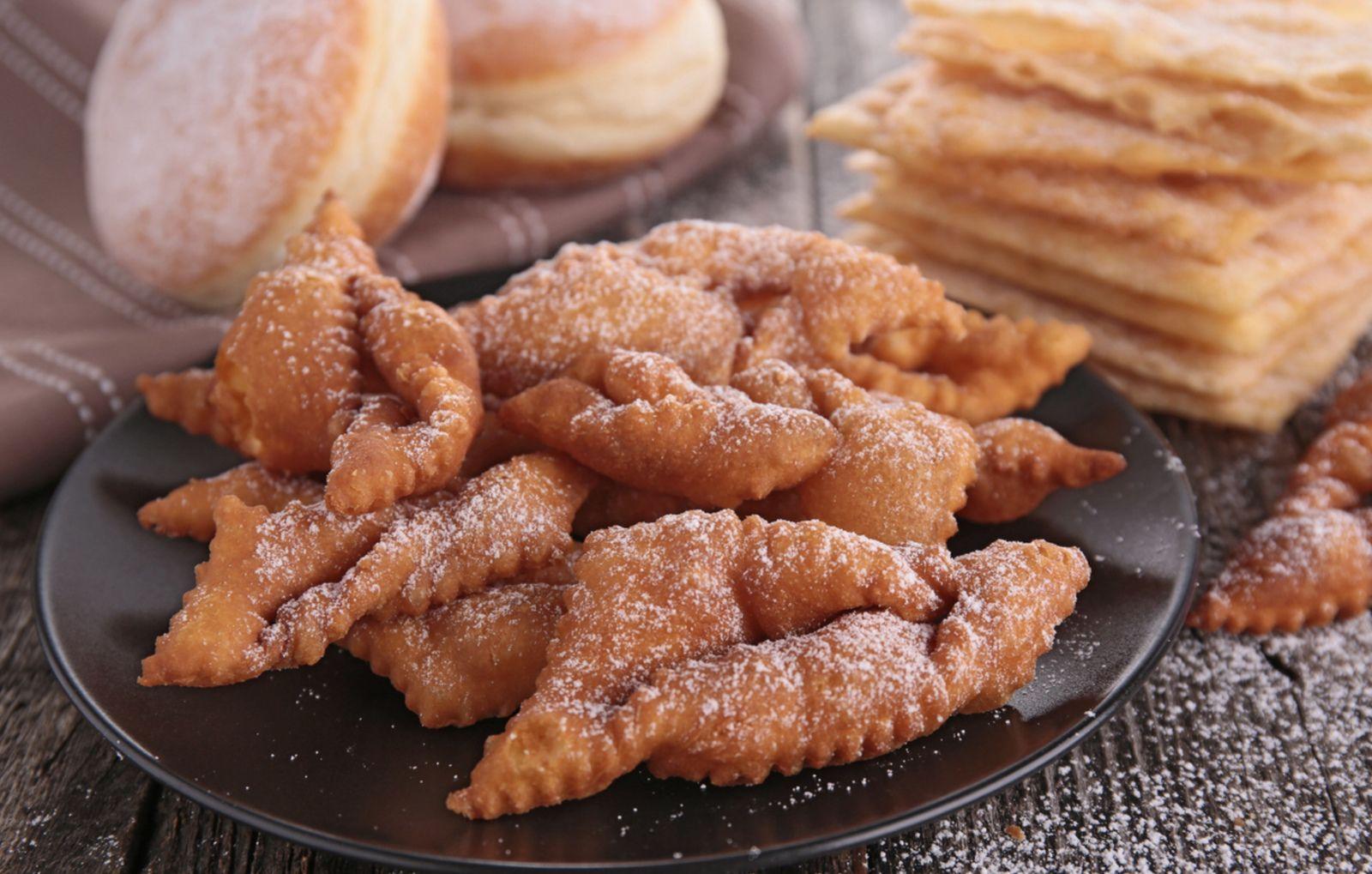 Bugnes et beignets de Carnaval