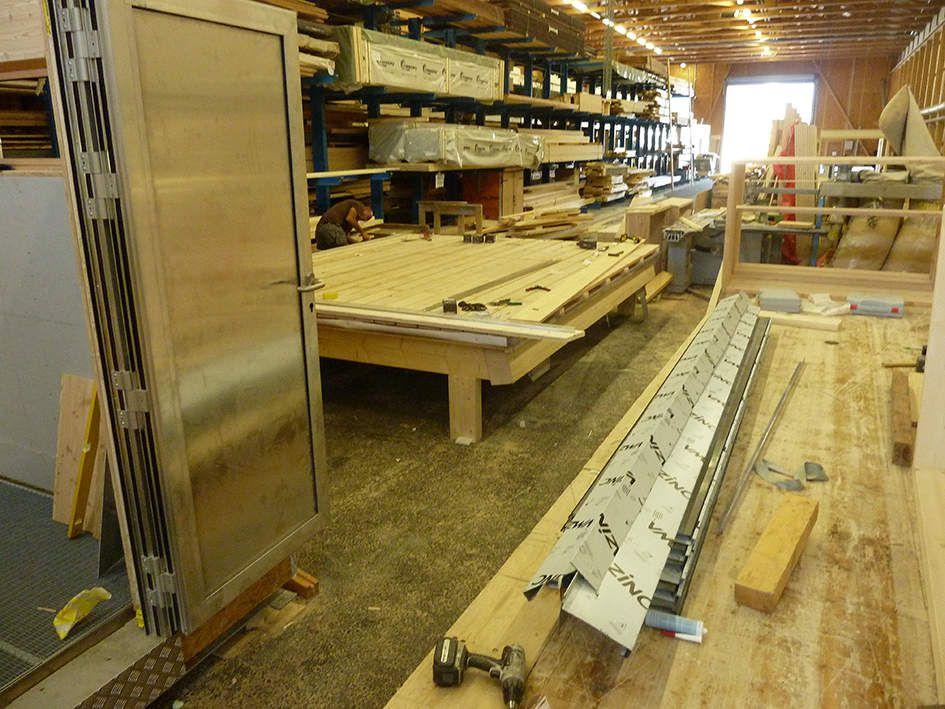 blindage et placage toiture en zinc