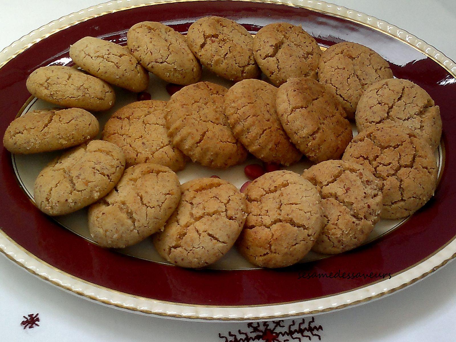 Ghryba lbehla aux cacahuètes