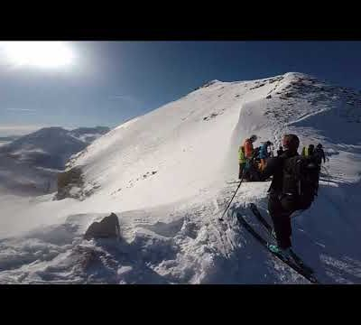 [Vidéo] Ski de randonnée au Col Vallon Julien en Ubaye