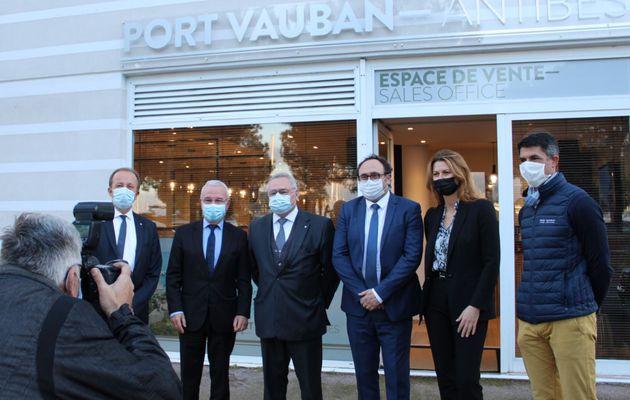 Le nouvel espace de commercialisation de Port Vauban (Antibes), a été inauguré