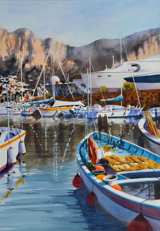 Exposition aquarelles du 12 au 20/09/2020 Landes aquarelle festival Morcenx 400110