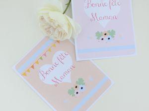 Carte pour la fête des mères à imprimer
