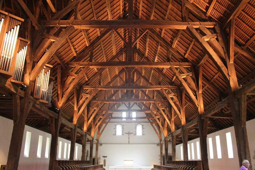 8 - Cap sur l'abbaye de Saint-Wandrille avant de gagner l'estuaire