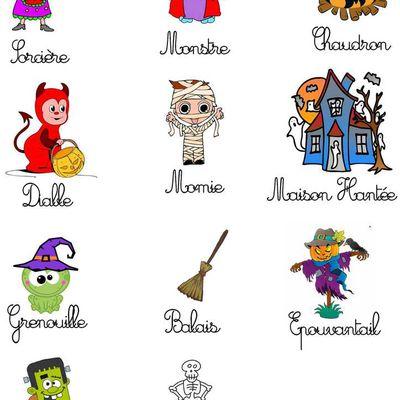 Classeur d'activité - Automne - Halloween