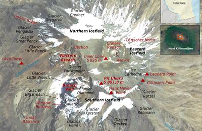 Au sommet du Kilimandjaro, une neige pas si éternelle...