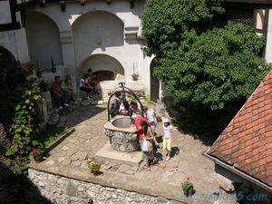 Château de Bran, Roumanie en camping-car
