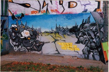 les murs des villes petites et grandes sont devenues ou redevenues un lieu d'expression iimportants. Voici un album qui va s'enrichir régulièrement de mes découvertes.