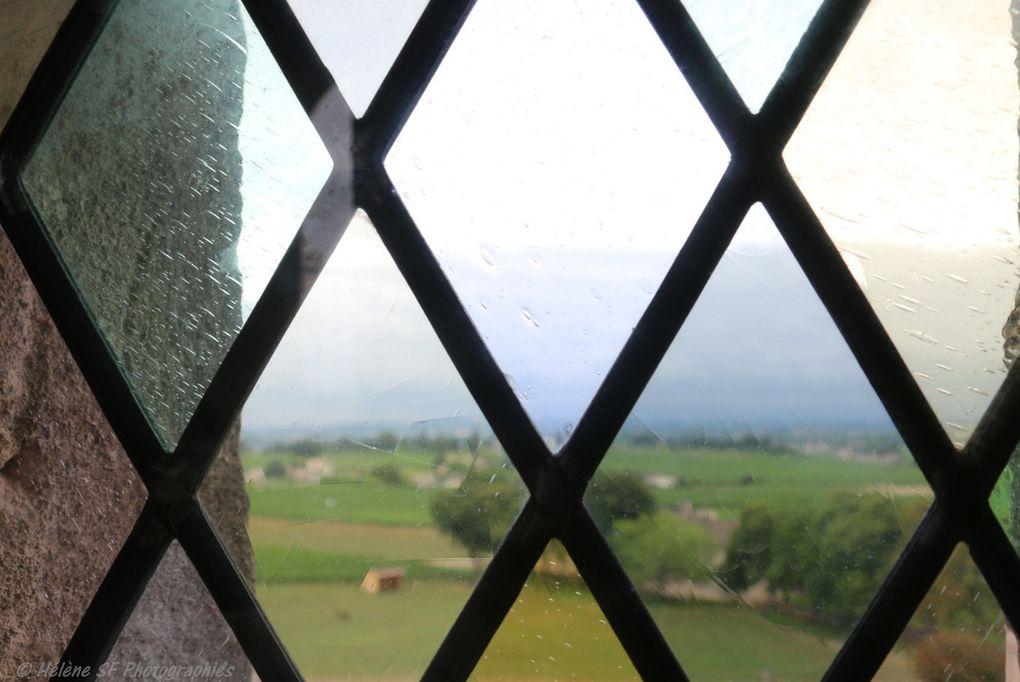 Saint-Emilion incontournable : monter en haut du clocher de l'église Monolithe pour la vue exceptionnelle sur les toits et sur les vignobles classés