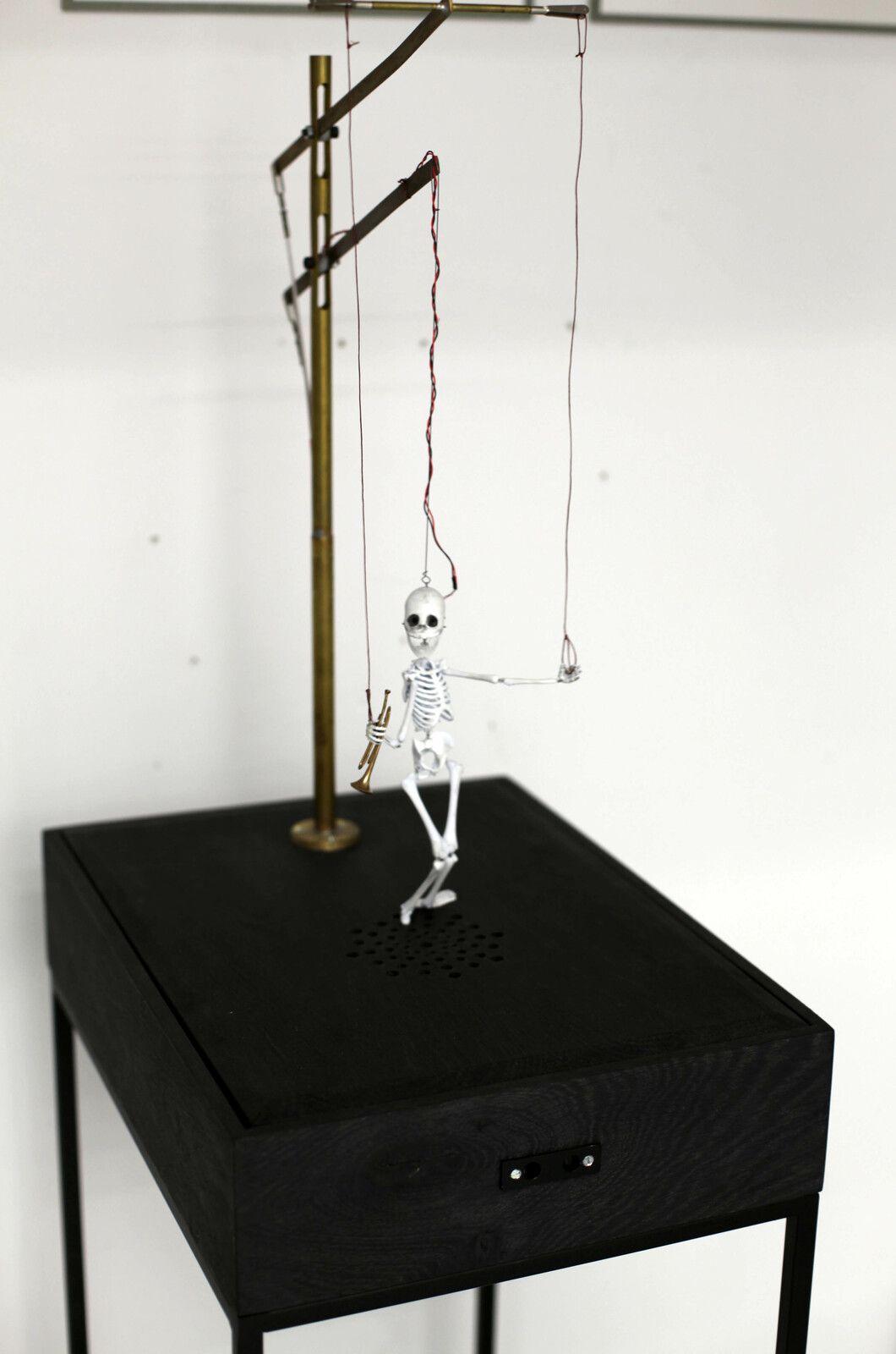 de «Satchmo», 2021 de Nicolas DARROT - Courtesy de l'artiste et de la Galerie C - Contemporary Art Paris © Photo Éric Simon