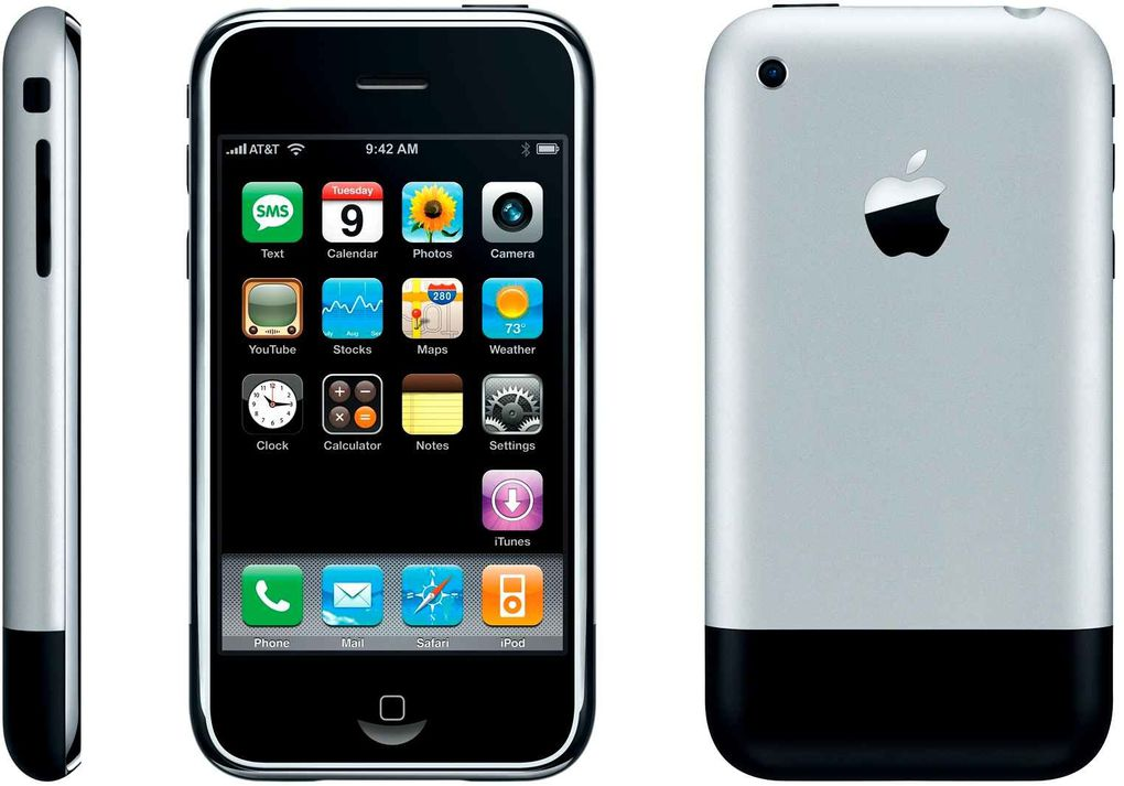 Evolution du Iphone collection mobilophiles 2007 2019
