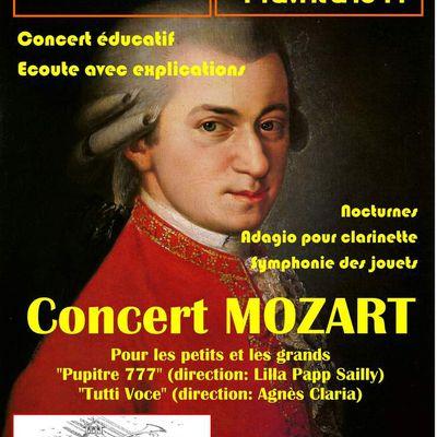 Concert à Eauze (32) le 14 avril 2019
