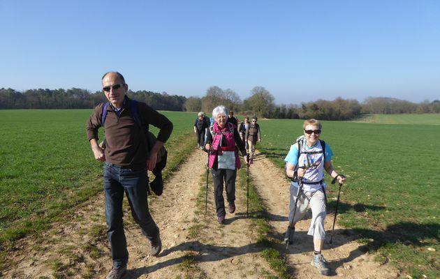 Randonnée en boucle à Boutigny-sur-Essonne - 22 km.