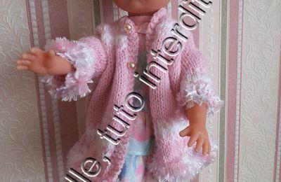 tuto gratuit poupée : manteau sans couture