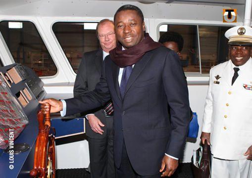 Faure Gnassingbé commande deux vedettes navales à 4,5 milliards