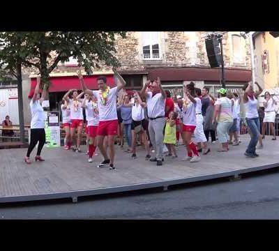 Vidéo du flash-mob de Maurs