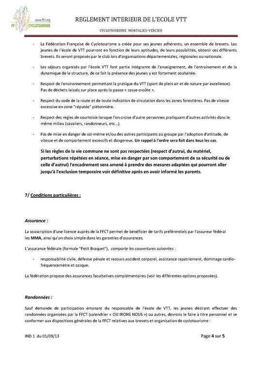 Album - Dossier inscription Jeunes