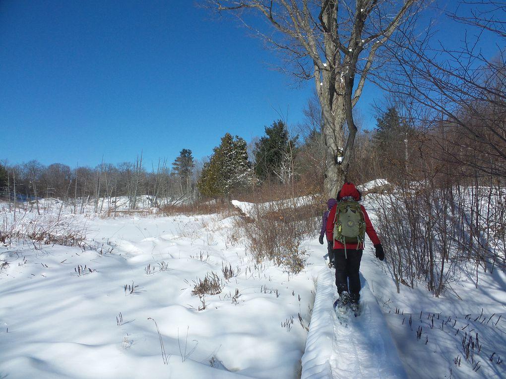 Winter E2E: 30 km de raquette dans des conditions hivernales presque parfaites!