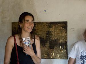Peintures et monotypes d'Annie Gévaudan, tableaux de Julie Loscos, peintures d'Anne Strenger