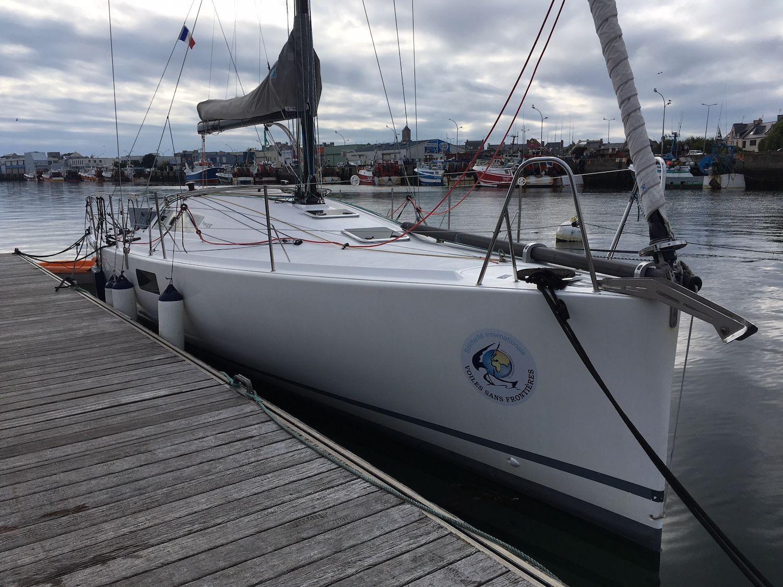 Kornog quittera bientôt le port du Guilvinec pour de nouvelles aventures.