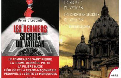Les derniers secrets du Vatican, de Bernard Lecomte